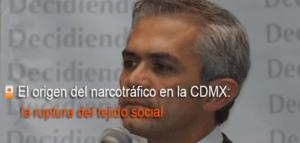 Narcotráfico en la ciudad de México ruptura en el tejido social