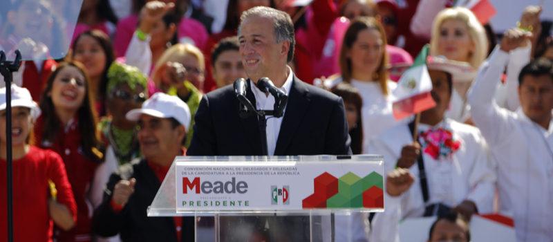 José Antonio Meade, PRI, PVEM, PANAL