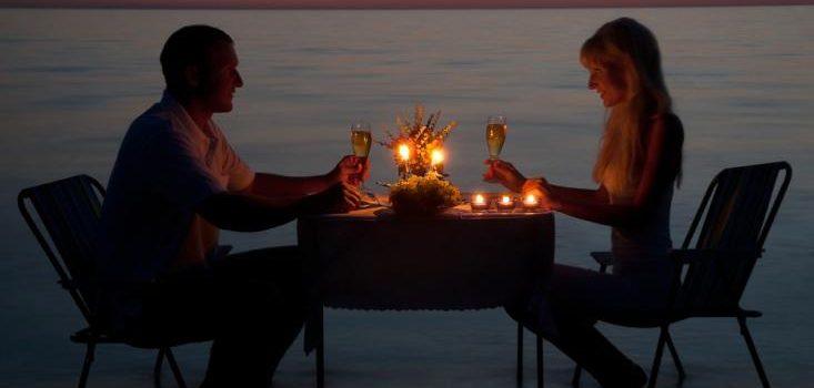 viaje romántico o a la playa