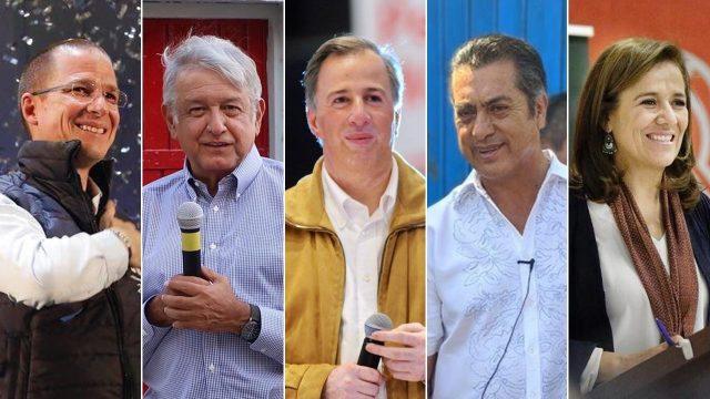 Candidatos presidenciables