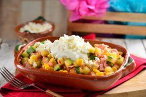 calabazas a la mexicana comida vegana rico sabor tradicional mexicano