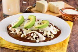 Enmoladas Comida Mexicana