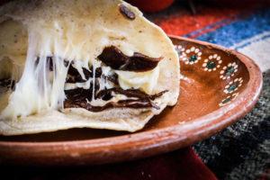 quesadillas mexicanas platillo tipico mexicano