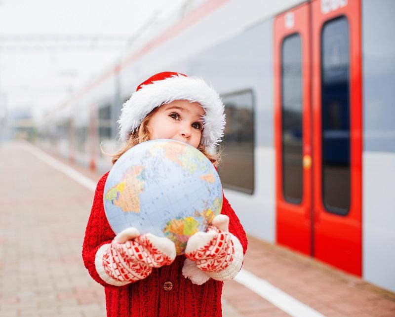 Viajar con niños en epoca navideña