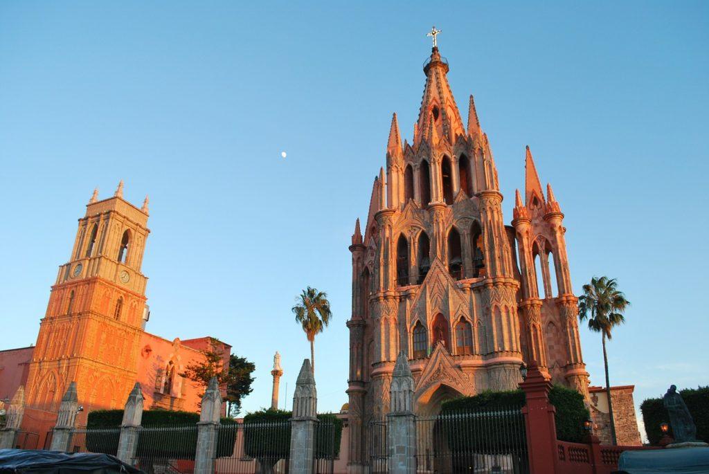 Fotografía de la iglesia de San Miguel Allende